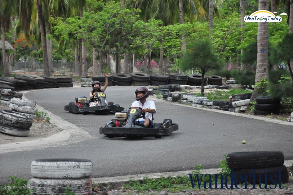 Đua xe F1 tại đảo Khỉ